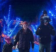 Winter Wonderland holidays at Center Parcs - enjoy the magic together.    We've never visited Center Parcs at Christmas but we hope to one day; it looks magical.    #CPFamilyBreaks