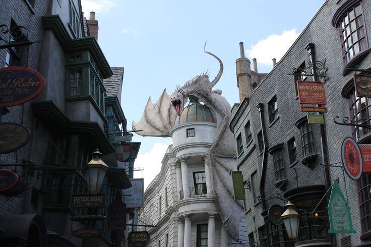Diagon Alley Dragon