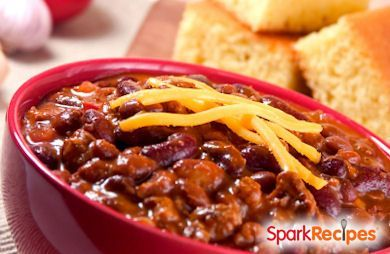15 Minute Chili Recipe via @SparkPeople