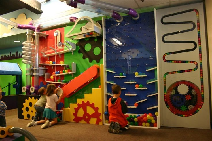 kid city ball wall