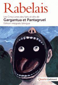 Les cinq livres des faits et dits de Gargantua et Pantagurel /  Rabelais, François (1494?-1553) (auteur) Fragonard, Marie-Madeleine (traducteur) Bernard, Mathilde (1981-....) (collaborateur) Oddo, Nancy (1965-....) (collaborateur) http://bu.univ-angers.fr/rechercher/description?notice=000887990