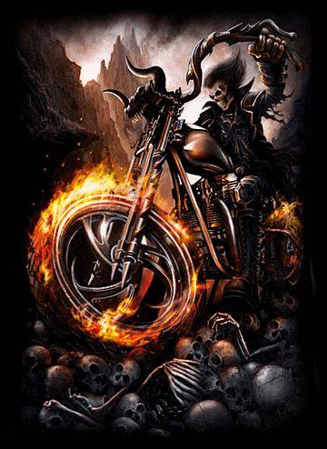 Ghost rider ghost rider pinterest grim reaper - Badass screensavers ...