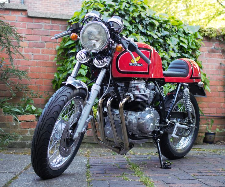 Honda RC03 Cafe Racer: the bike is currently being professionally safety checked, serviced and MOT'd ready for the road