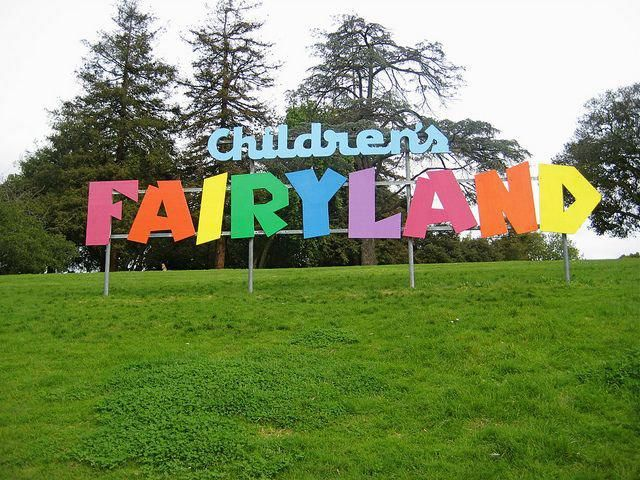 """First 3-dimentional storybook park """"Childern's Fairyland"""" in U.S. was build in 1950. Dorothy Manes was the first director of this park."""