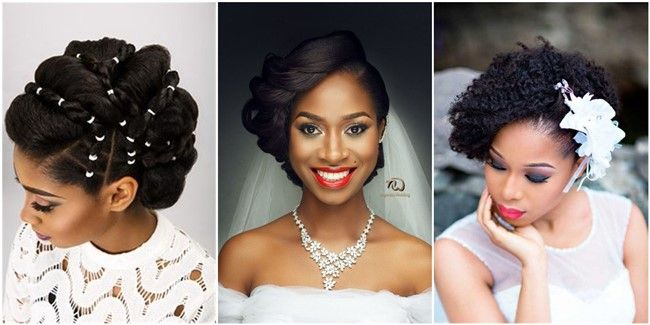 20 Wedding Updo Hairstyles For Black Brides Wedding Itself Is