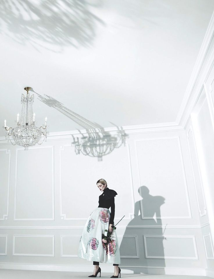 christian dior s/s 2013, daria strokous in raf simons by willy vanderperre for anOther magazine