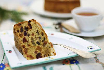 Самые лучшие кулинарные шедевры: Необычный вкус пирога фруктовый кекс