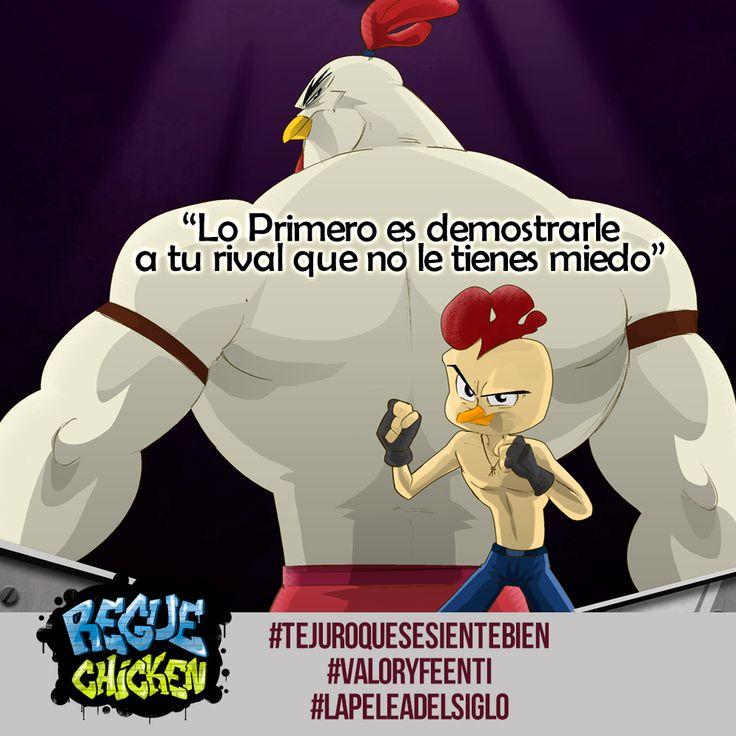 #LaPeleaDelSiglo #RegueChicken