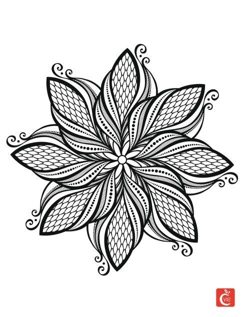 4866 Best Mandalak Kaleidoszkopok Zendalak Images On