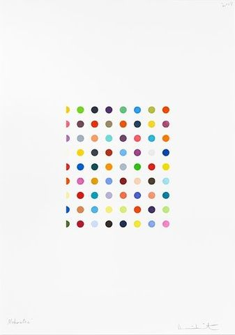 Damien Hirst, Nabumetone, 2008 at www.meadcarney.com  #DamienHirst #MeadCarney #London #art #artgallery