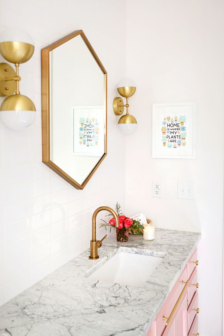 Elsies Guest Bathroom Tour Before After A Beautiful Mess