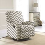 Dawson Vibes Swivel Glider Recliner. Love this pattern! Chevron is great! Someone with a neutral color pallet please pick these up at Costco!