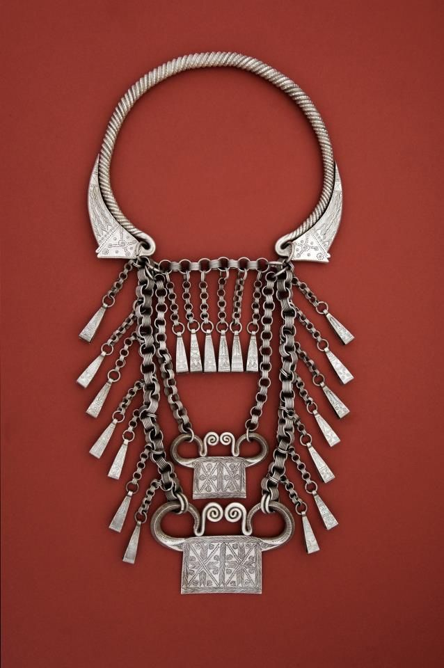 "Golden Triangle | Hmong people; | early to mid 20th c... the ""locks"" keep the spirit within the body and thus protect the wearer against disease, danger, and death."
