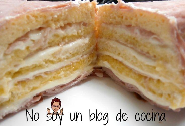 No soy un blog de cocina: PASTEL DE QUESO Y JAMÓN ༺✿ƬⱤღ  https://www.pinterest.com/teretegui/✿༻