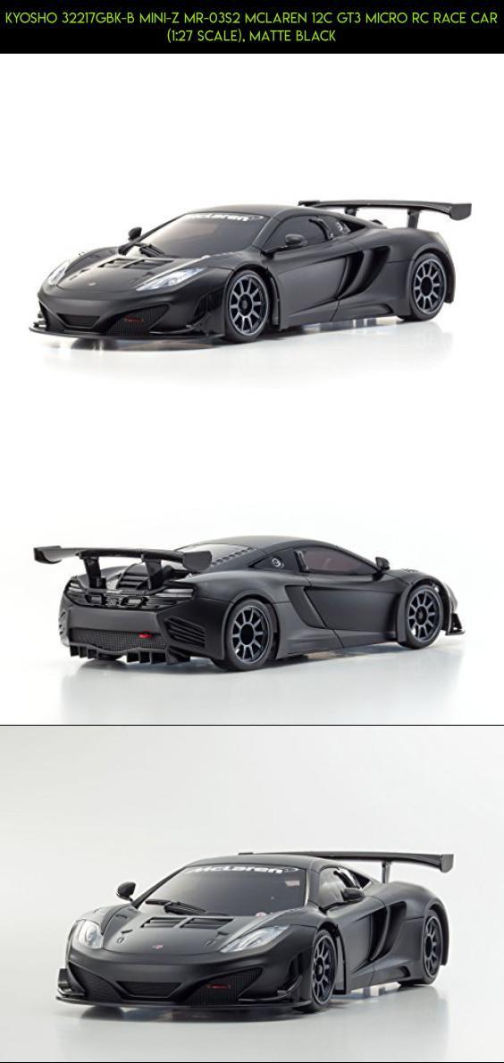 Kyosho 32217GBK-B Mini-Z MR-03S2 McLaren 12C GT3 Micro RC Race Car (1:27 Scale), Matte Black #z #tech #plans #kyosho #camera #parts #products #shopping #racing #gadgets #mini #kit #technology #fpv #drone