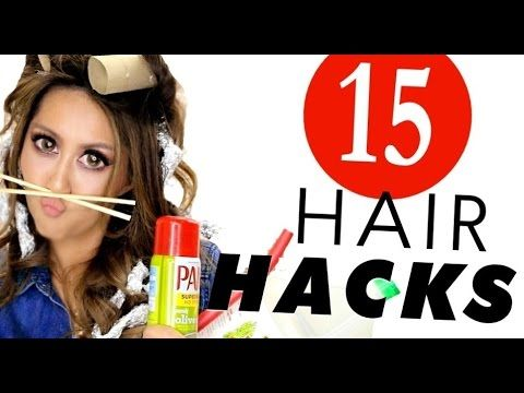 15 Smart B*tches HAIR HACKS Every Girl Should Know! | MakeupWearables Hairstyles