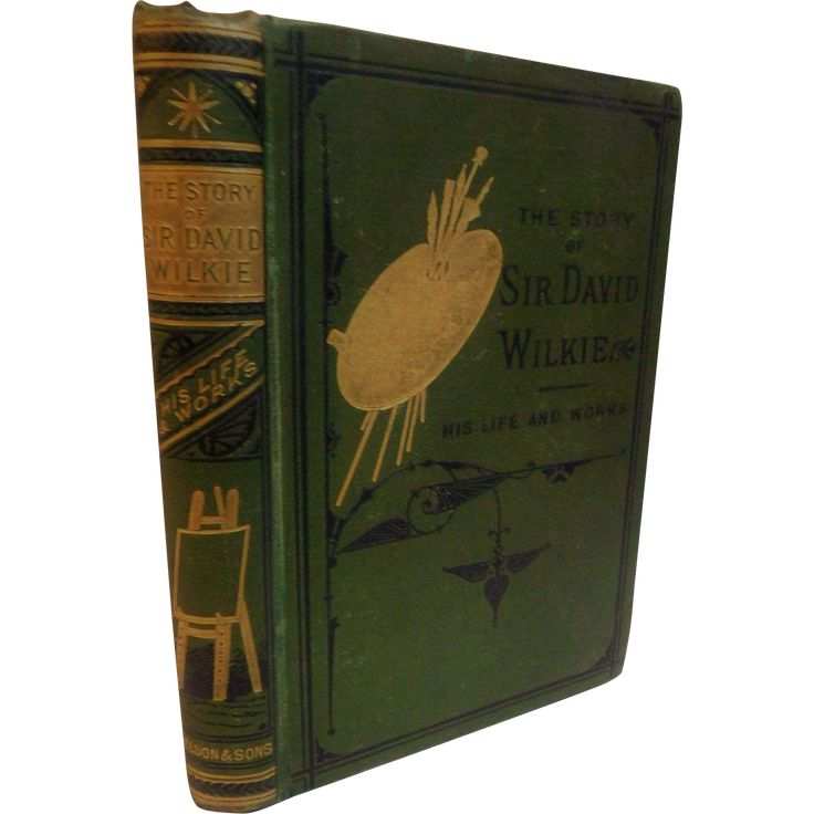 1879 The Story of Sir David Wilkie His Life And Works Painter Artist Biography Antique Victorian Book A.L. Simpson #antiquebooks