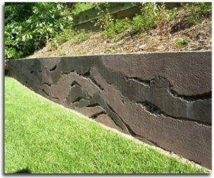 Best 25 concrete retaining walls ideas on pinterest for Poured concrete walls vs block cost