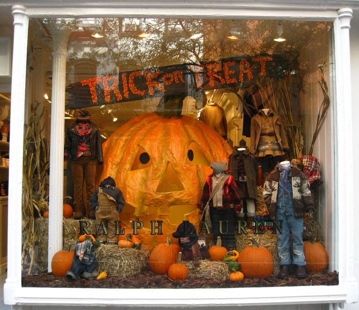 image result for halloween window display - Halloween Display Ideas
