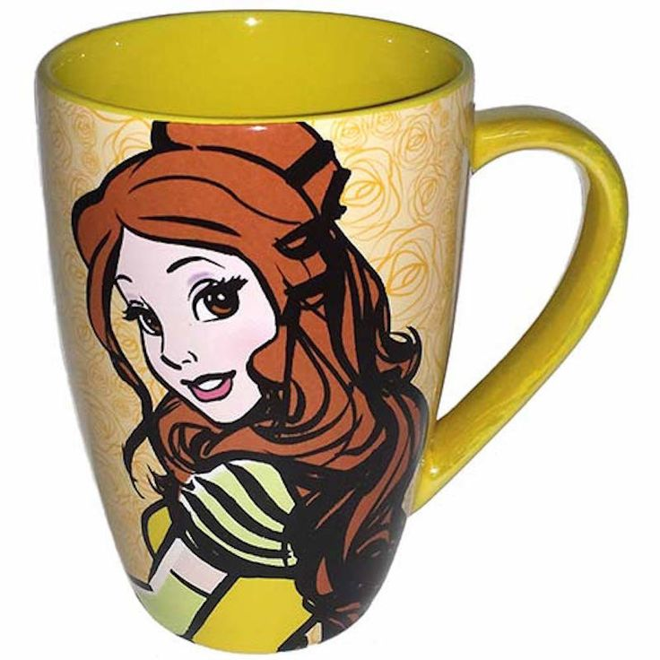 disney parks princess belle quotes ceramic coffee mug new