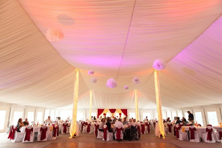 Coldwater Tent Wedding Reception At The Chula Vista Resort
