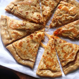 Pizza paratha recipe, How to make pizza paratha recipe