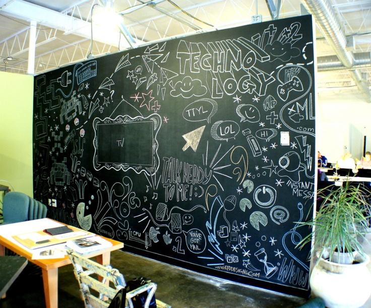 Chalkboard Wall In Childrenu0027s Church Part 92