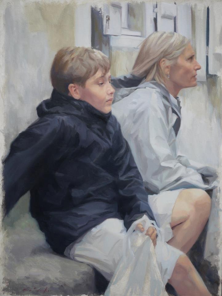 Sara Sniderhan - portrait commission - 2013