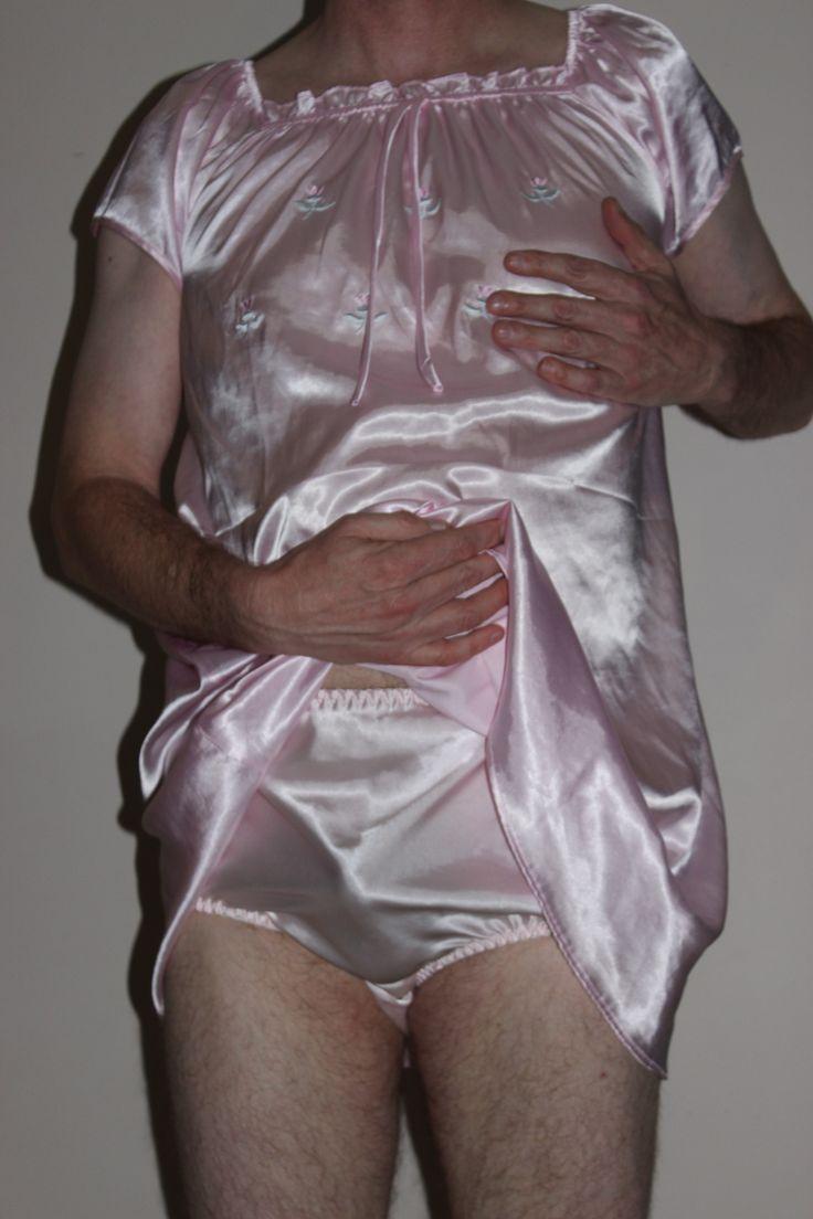boys in satin panties