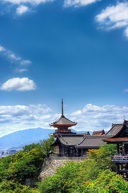 Splendid View Over Kyoto by Sprengben [why not get a friend], via Flickr