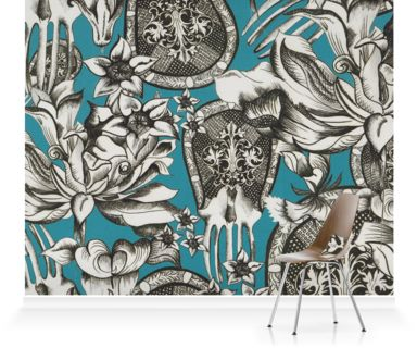 Murals of Stylised Victorian Ornament by Texprint (3000mm x 2400mm) | Shop | Surface View