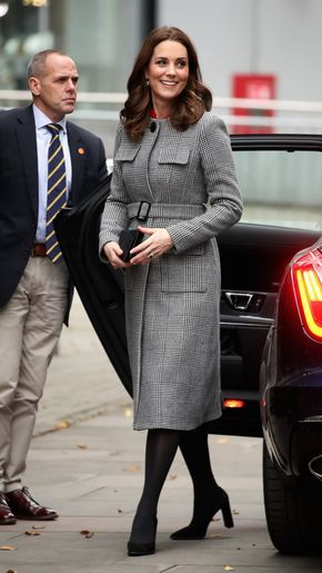 06.12.2017 After Queen Letizia, Kate Middleton Is the Latest Royal to Take on the Minidress