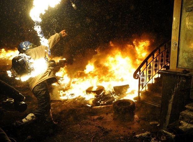 Kiev's deadly protests – in pictures | World news | theguardian.com