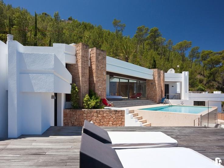 Villa exclusiva de alquiler en Cala Carbó, San José, Ibiza
