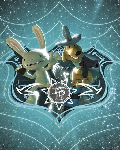Sam & Max, the Freelance Police. The best Dog and Rabbity-thing buddy cop point and click adventure game series ever.