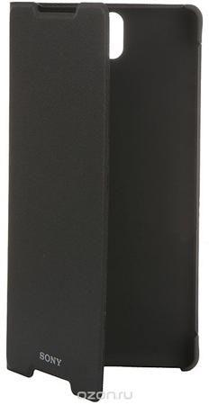 Sony SCR40 чехол для Xperia C5 Ultra Dual, Black  — 1769 руб. —  Не расстаетесь со своим Xperia C5 Ultra даже в дороге? Чехол Sony SCR40 надежно защитит его от неприятных неожиданностей. Если откинуть крышку этого умного аксессуара, планшет перейдет в активный режим, а если закрыть - вернется в режим сна. Чехол-подставка SCR40 позволяет удобно разместить планшет на столе, чтобы вы могли с комфортом общаться, работать в Интернете и развлекаться на своем Xperia C5 Ultra. Он создан специально…