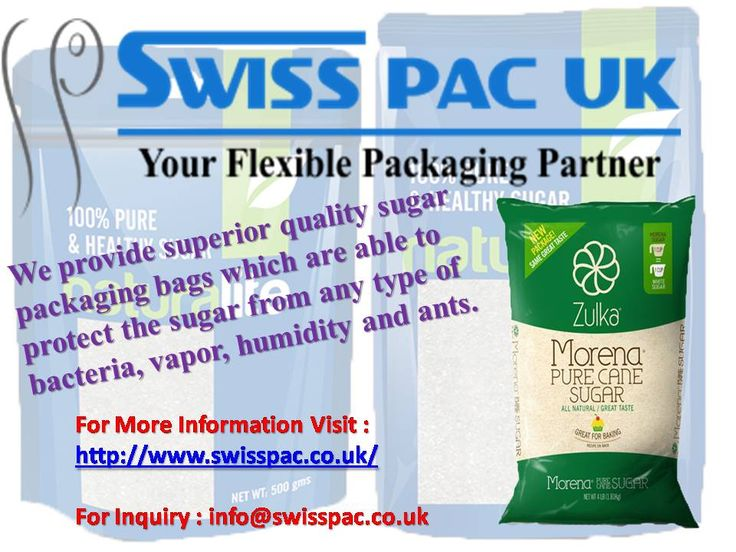 We provide superior quality #sugarpackaging bags which are able to protect the sugar from any type of bacteria, vapor, humidity and ants.