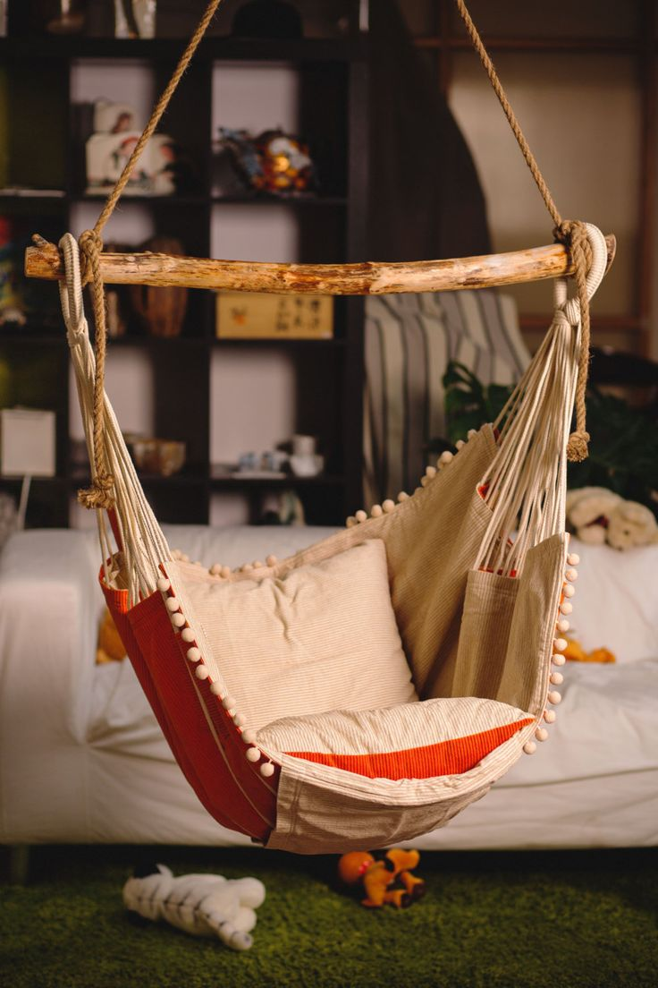 The hammock chair you'll never want to leave. Go on and try