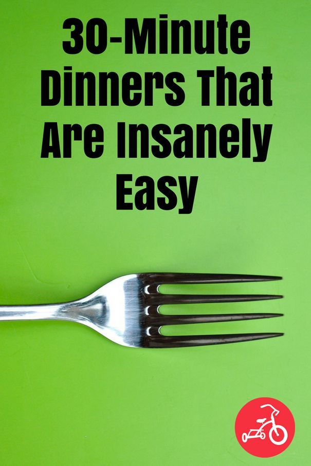 Dinner in a hurry doesn't have to mean fast food or delivery. If you've got thirty minutes, you can get one of these quick and tasty meals on the table. Scroll through the album below for 11 delicious recipes that will make weeknights a breeze. #dinner #30minutemeals #30minutemealseasy