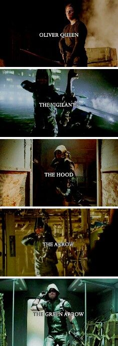 Oliver Queen ➡The Green Arrow