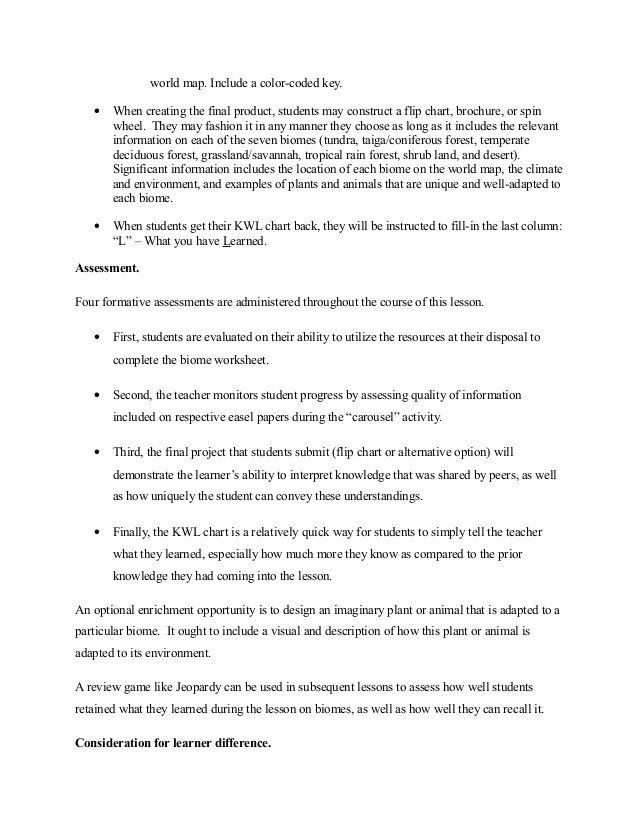 4 4 Biomes Worksheet Answers Biomes Lessonplan in 2020 ...