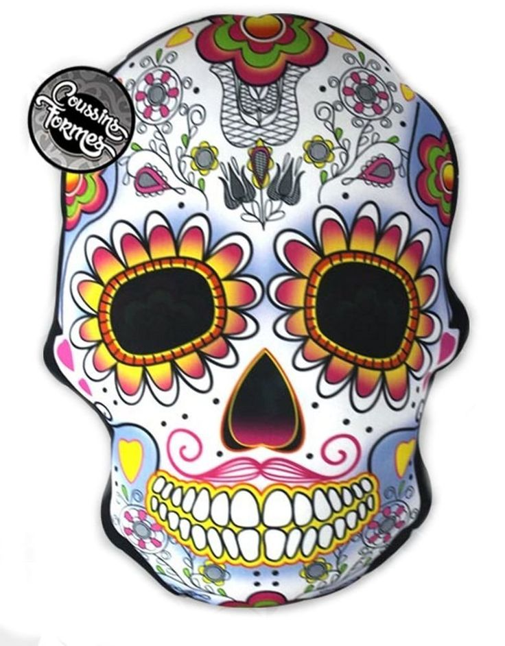 17 meilleures images propos de t te de mort mexicaine - Tete de mort style ...