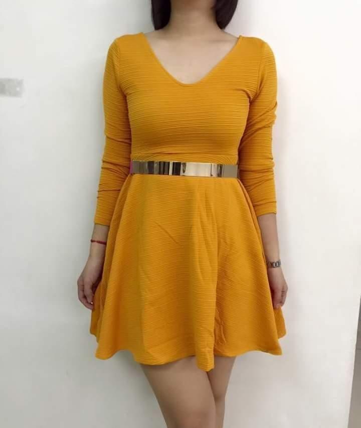 Unusal babycon short dress