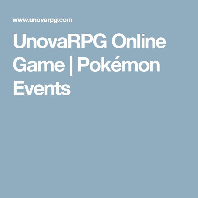 UnovaRPG Online Game | Pokémon Events