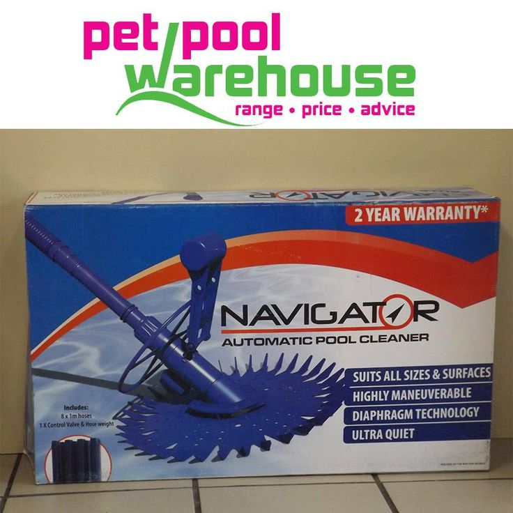 Exciting new pool cleaner available from Pet Pool Warehouse Knysna. Navigator Automatic pool cleaner, Speak to the professionals pool team at Pet Pool Warehouse Knysna for more information. #poolcleaner #swimmingpool