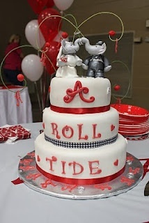 alabama football wedding cake toppers 32 best images about graduation ideas on 10645