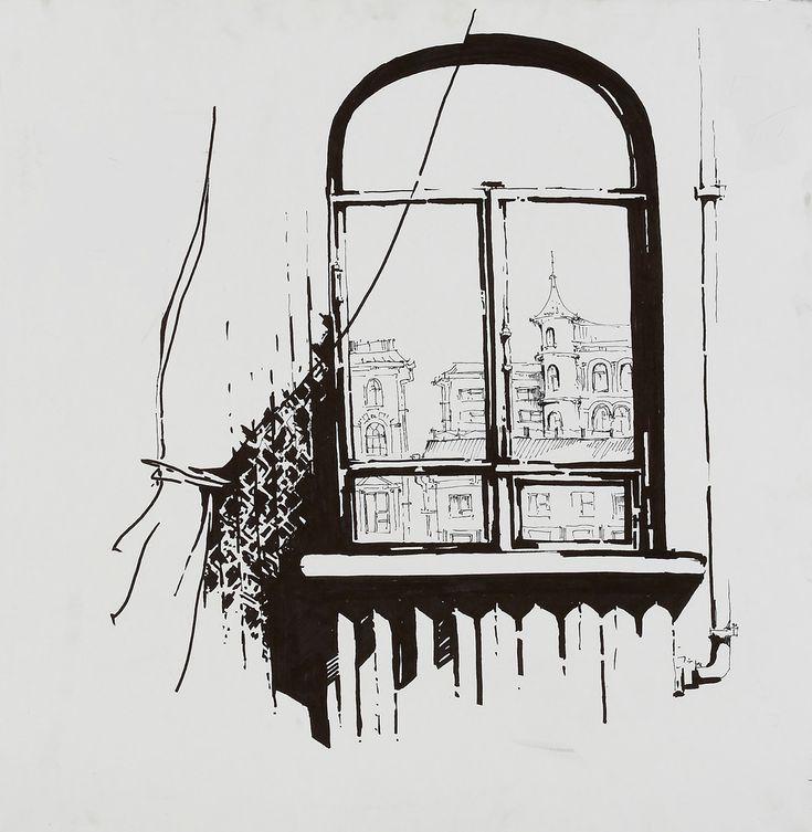 Картинки рисовать по окну