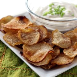 Crispy Curried Turnip Chips | Delicious and nutrient packed!