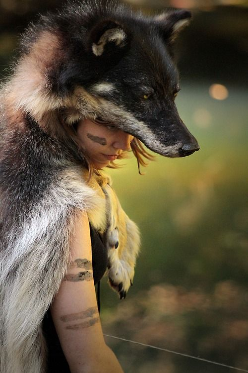 A fairy of the norwegian woods - naturepunk: This image is from a joint project...