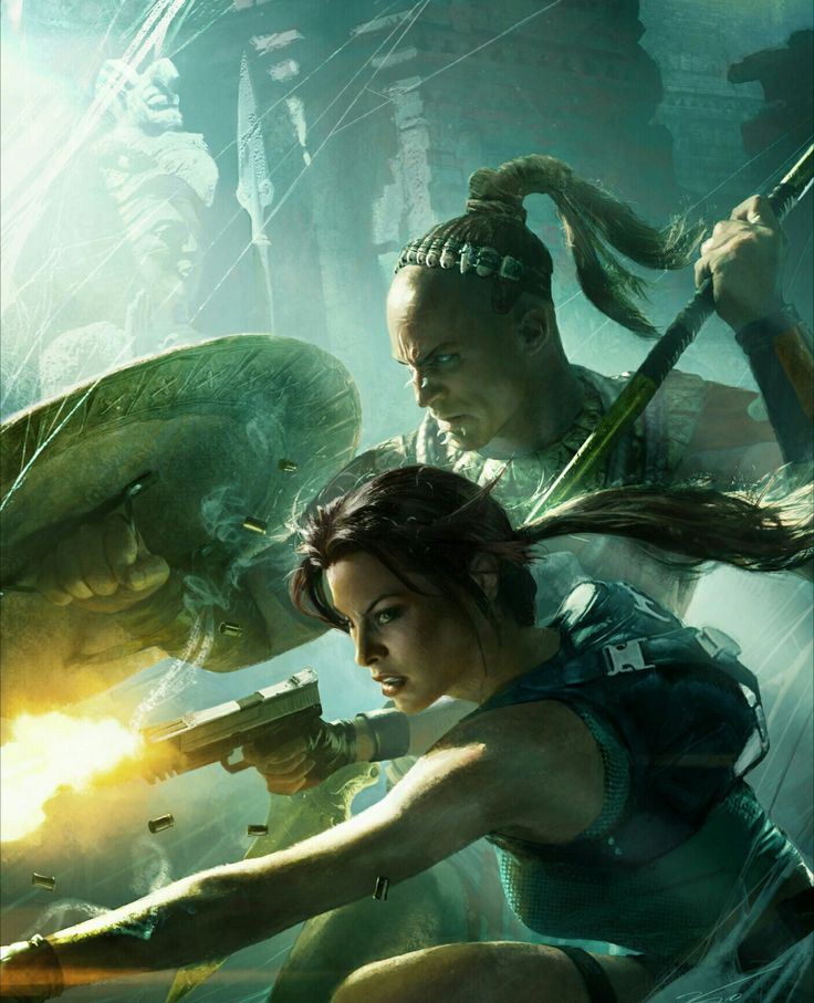 Lara Croft and the Guardian of Light - (2010) - Crystal Dynamics - Square Enix